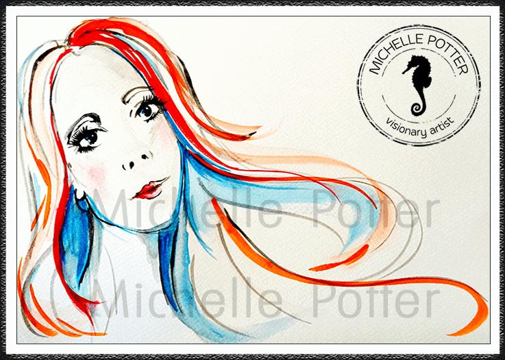 Commissioned_Art_Paints_Michelle_Potter_Woman_Watercolour_Large