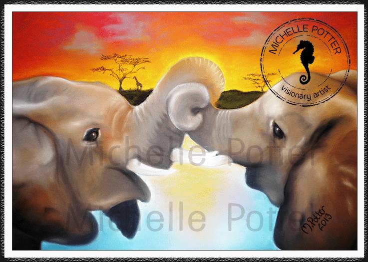Commissioned_Art_Pastels_Michelle_Potter_Elephant_Love_Large