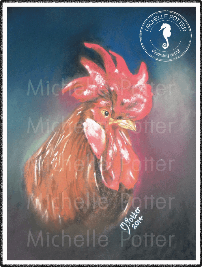 Commissioned_Art_Pastels_Michelle_Potter_Rooster_Lucky_Large