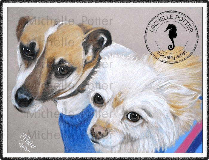 Commissioned_Art_Pencils_Michelle_Potter_Dogs_Lewis_Cassie_Large