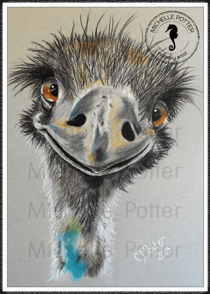Commissioned_Art_Pencils_Michelle_Potter_Emu_Large