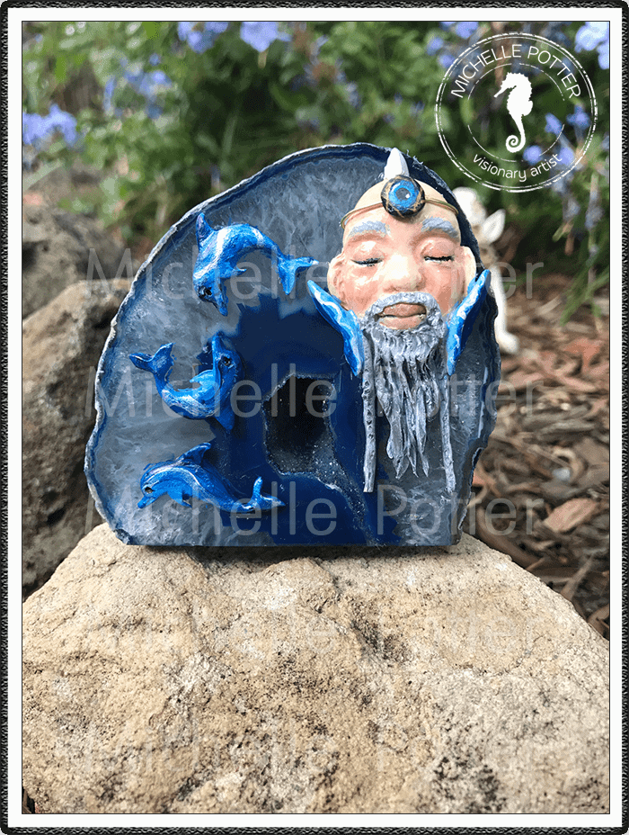 Crystal_Creations_Polymer_Clay_Neb_Merman_Blue_Agate_Geode_Ancient_Waters_Large