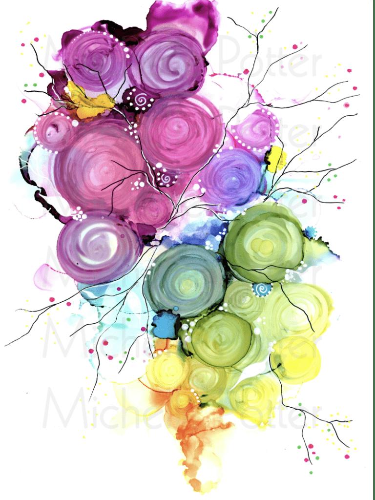 Inks on Yup_Michelle Potter Artist