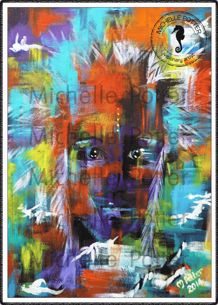 Intuitive_Art_Paints_Michelle_Potter_American_Indian_Shaman_Large