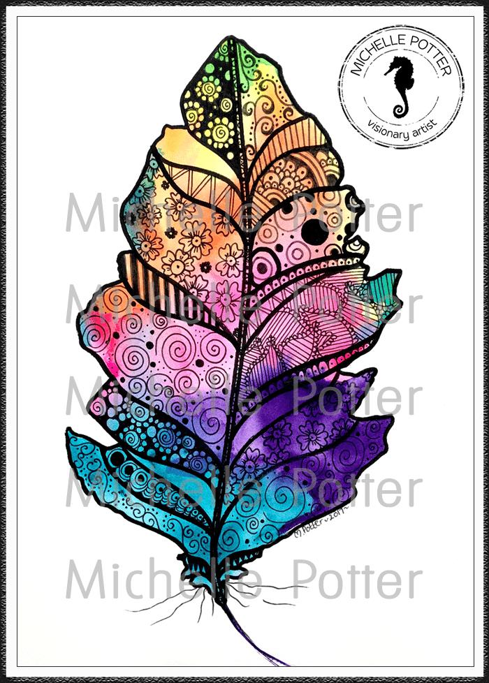 Intuitive_Art_Paints_Michelle_Potter_Feather_Art_Large