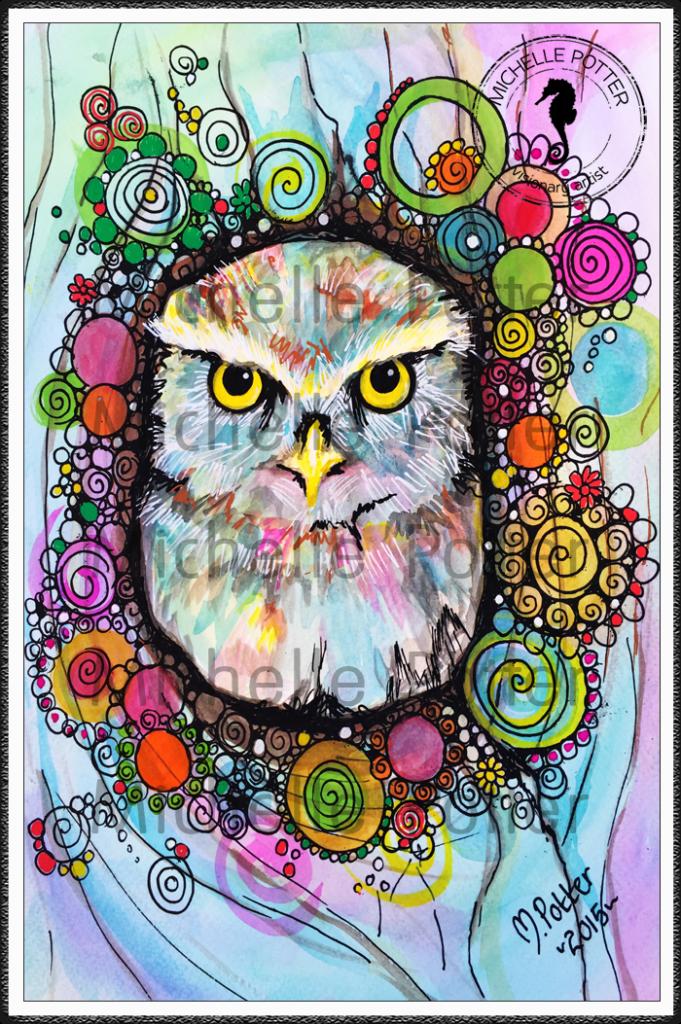 Intuitive_Art_Paints_Michelle_Potter_Owl_Willow_Large
