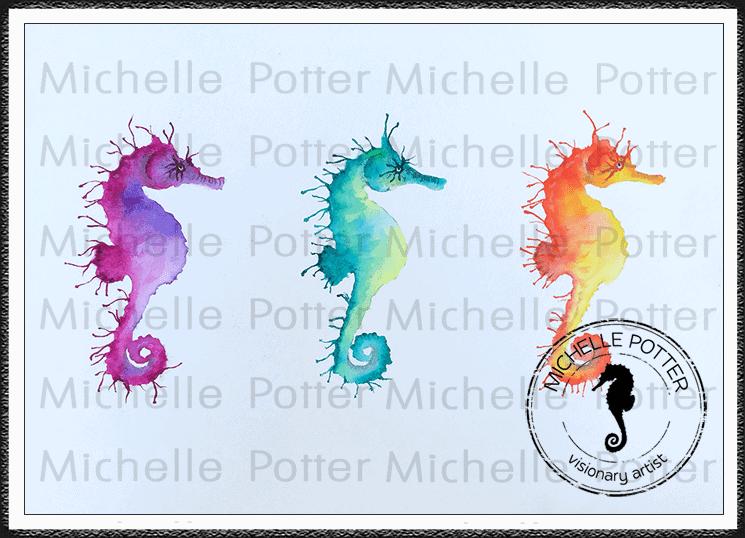 Intuitive_Art_Paints_Michelle_Potter_Seahorses_Watercolour_Large