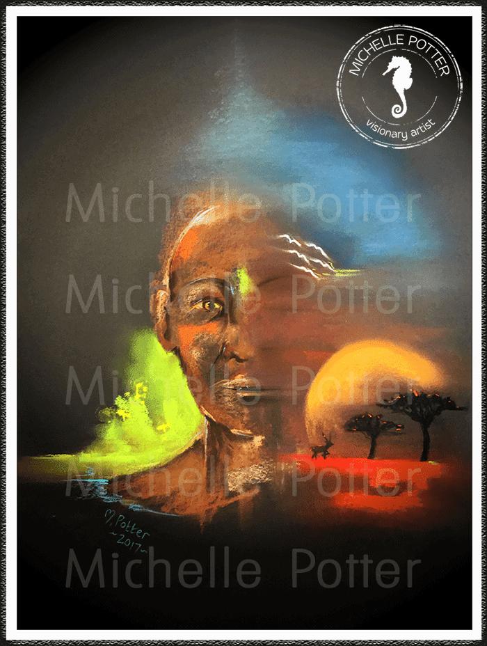 Intuitive_Art_Pastels_Michelle_Potter_African_Sunset_Large