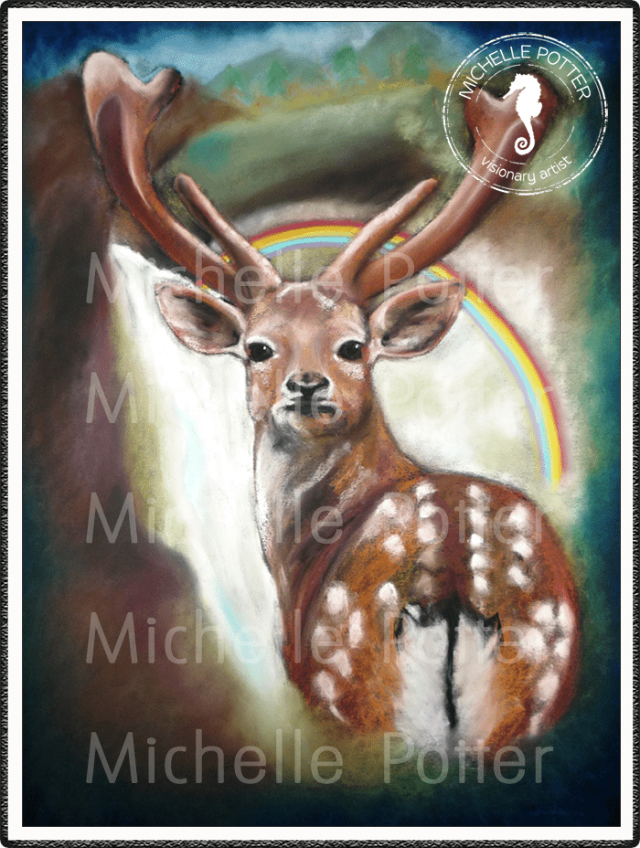 Intuitive_Art_Pastels_Michelle_Potter_Deer_Large
