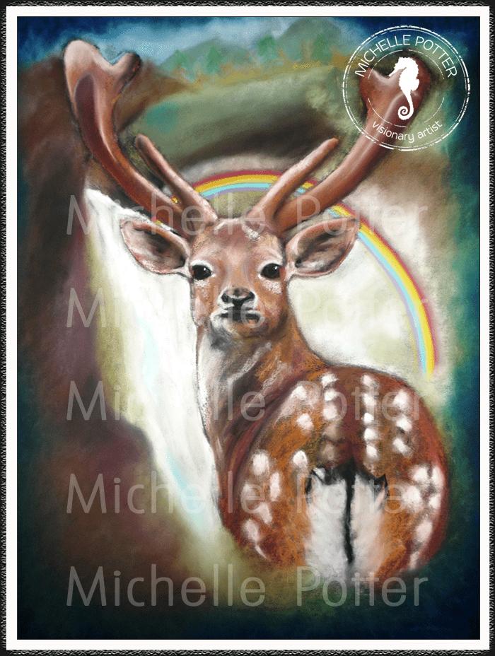 Intuitive_Art_Pastels_Michelle_Potter_Deer_Large