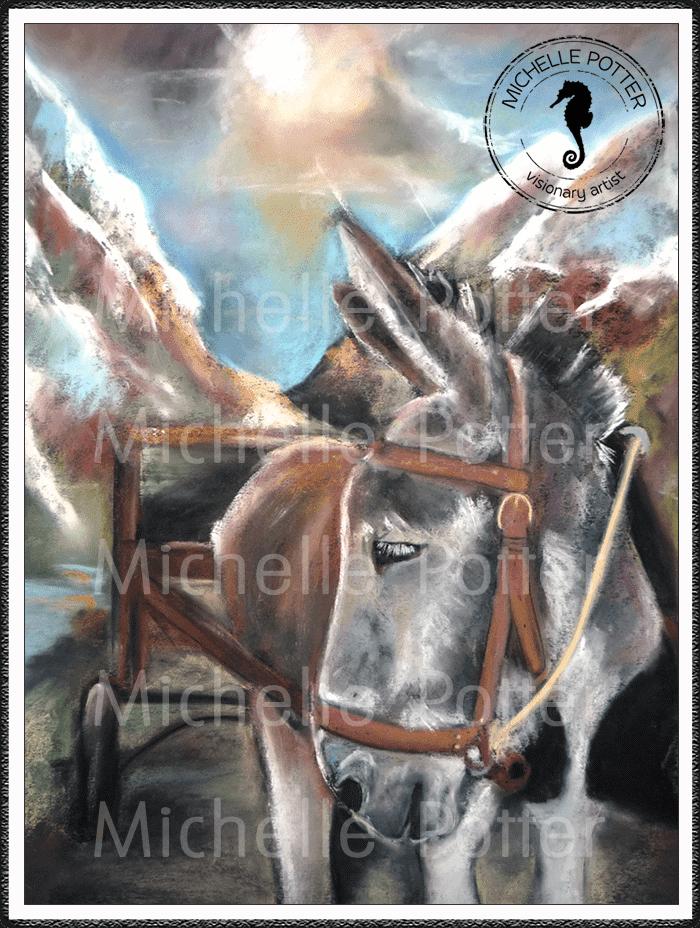 Intuitive_Art_Pastels_Michelle_Potter_Donkey_Large