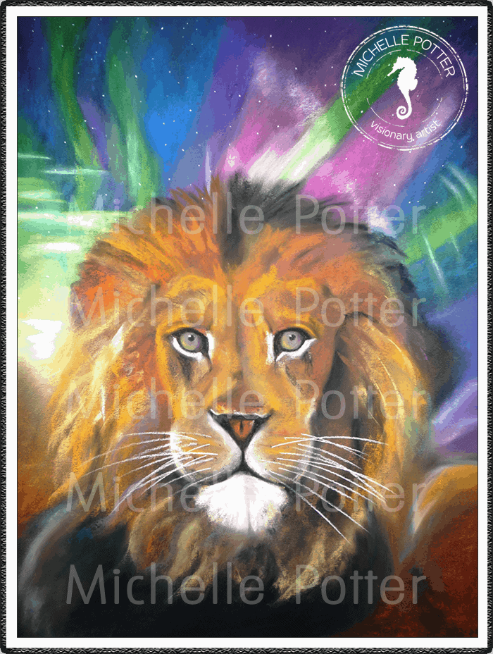 Intuitive_Art_Pastels_Michelle_Potter_Lion_Large