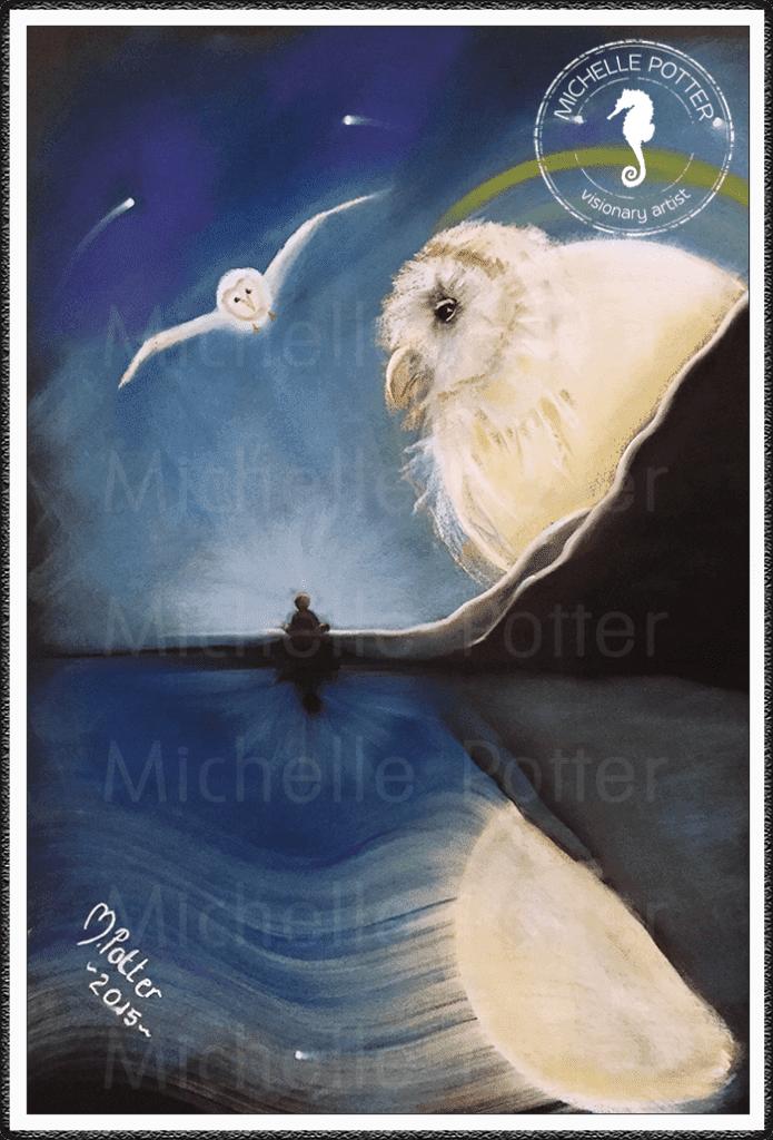 Intuitive_Art_Pastels_Michelle_Potter_Moon_Owl_Large