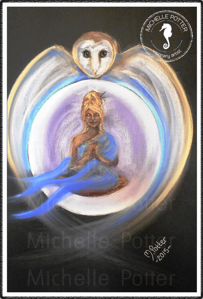 Intuitive_Art_Pastels_Michelle_Potter_Owl_Moon_Woman_Serenity_Large