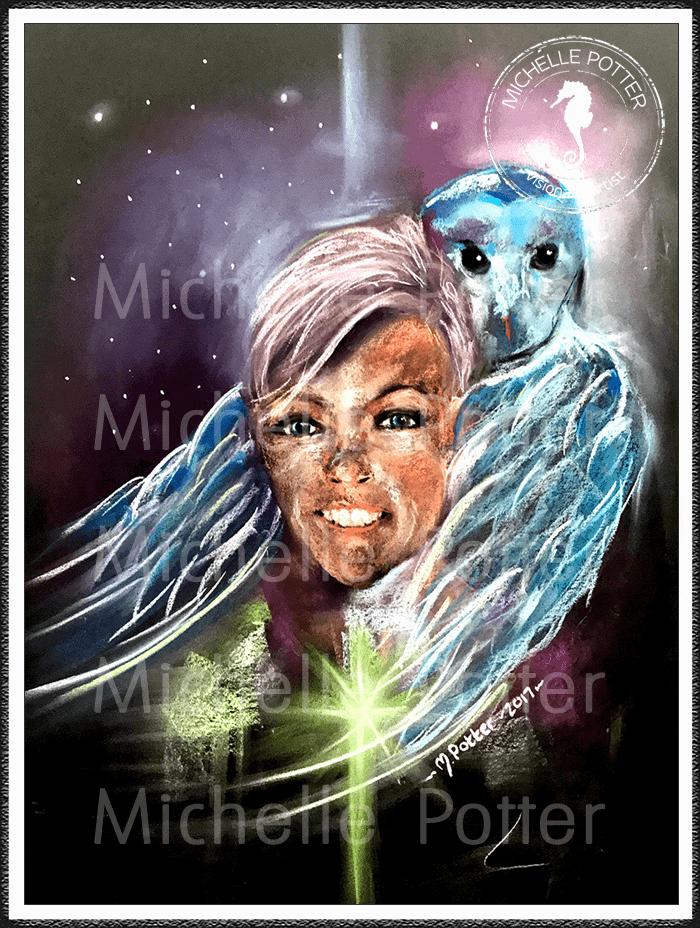 Intuitive_Art_Pastels_Michelle_Potter_Owl_Self_Portrait_Large