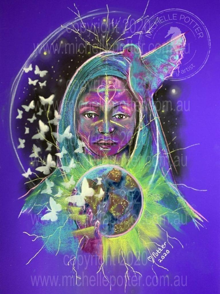 Marla_Pastel_Intuitive_Art_Michelle_Potter_Artist