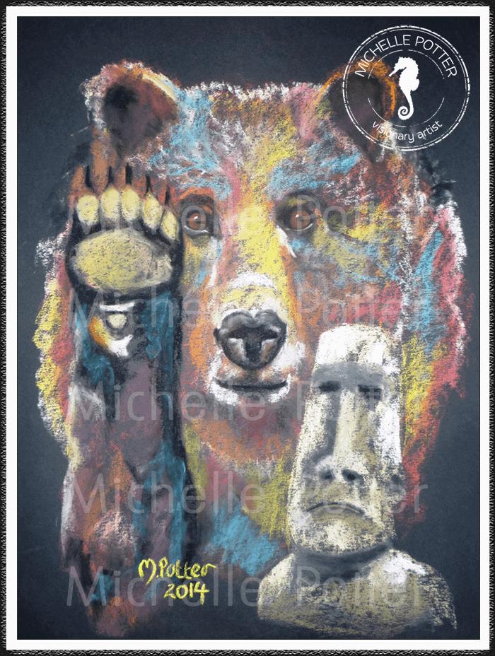 Spirit_Guide_Art_Michelle_Potter_Bear_Easter_Island_Large