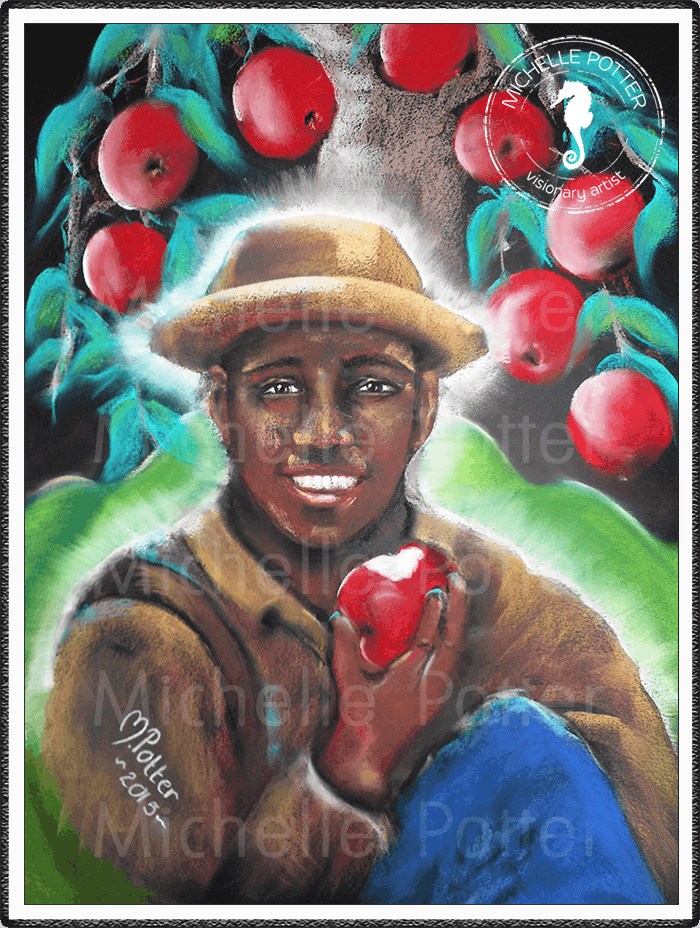 Spirit_Guide_Art_Michelle_Potter_Charlie_Apples_Large