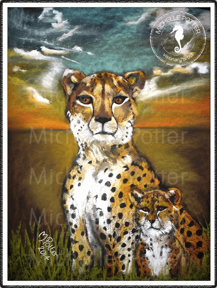 Spirit_Guide_Art_Michelle_Potter_Cheetah_Baby_Large
