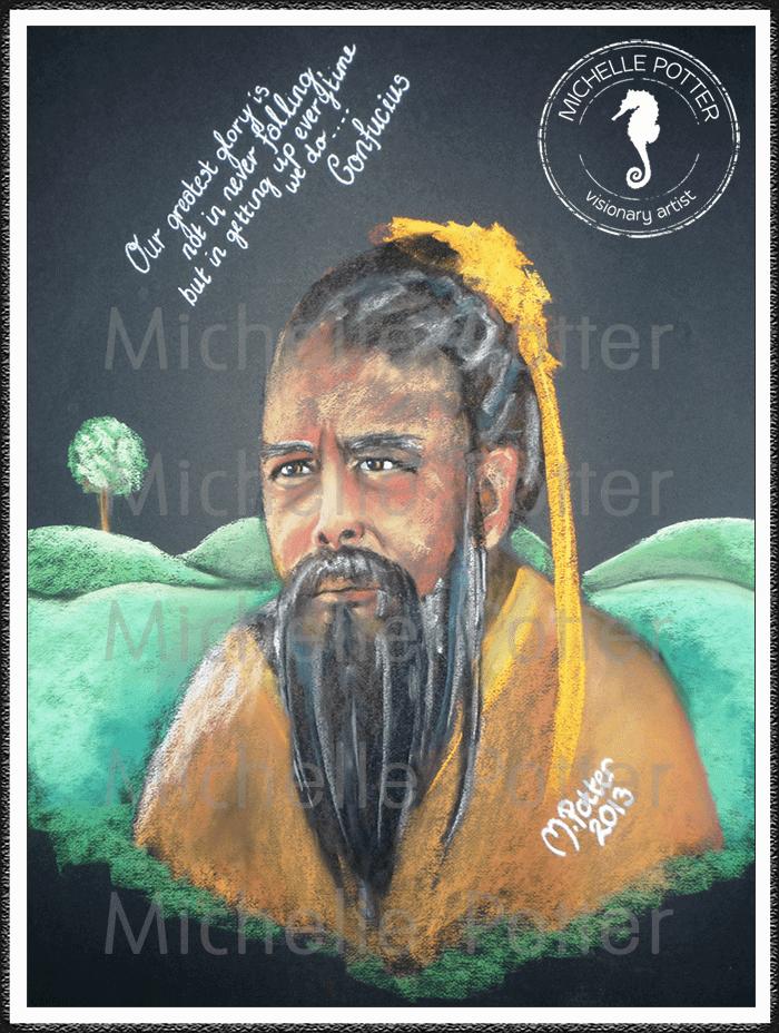 Spirit_Guide_Art_Michelle_Potter_Confucius_Large