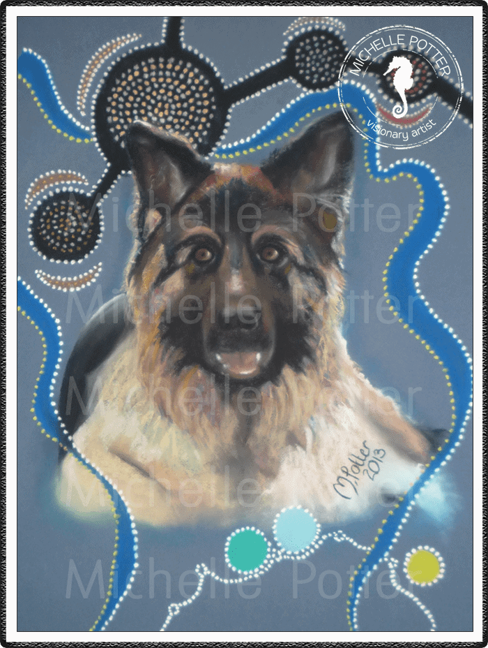 Spirit_Guide_Art_Michelle_Potter_Dog_Benson_Large