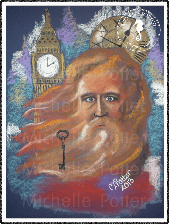 Spirit_Guide_Art_Michelle_Potter_Father_Time_Large