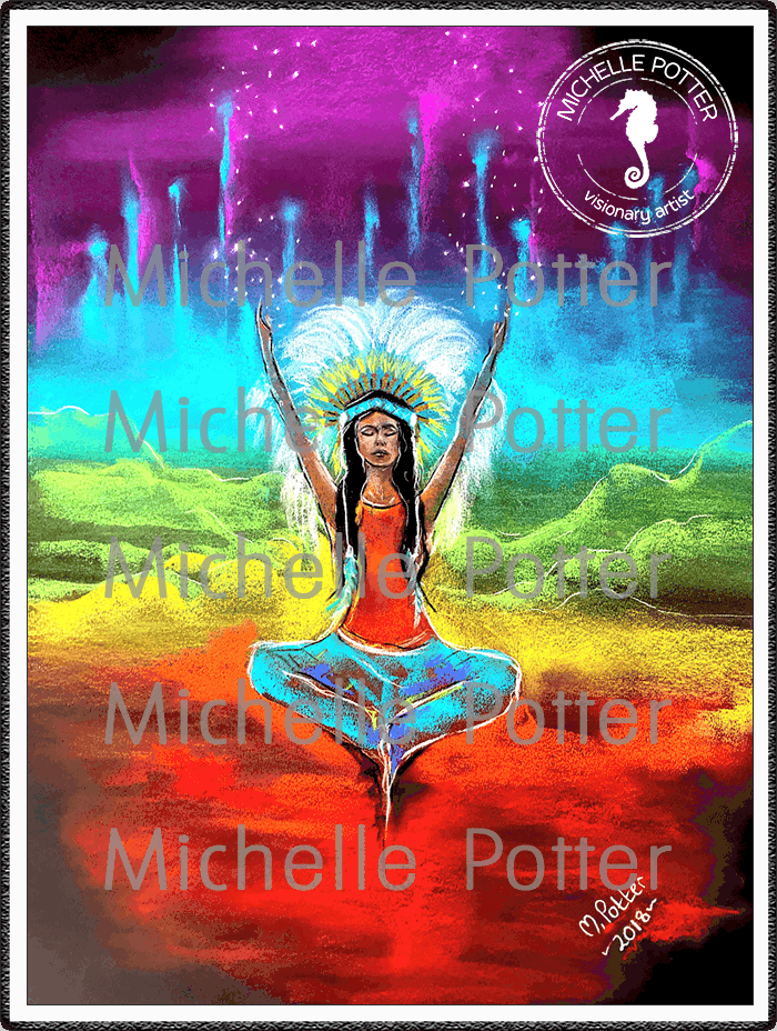 Spirit_Guide_Art_Michelle_Potter_Higher_Self_Guidance_Chakras_Large