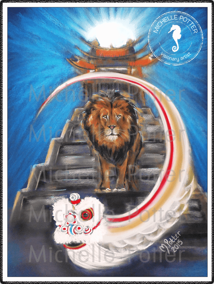 Spirit_Guide_Art_Michelle_Potter_Lion_Chrysocolla_Large