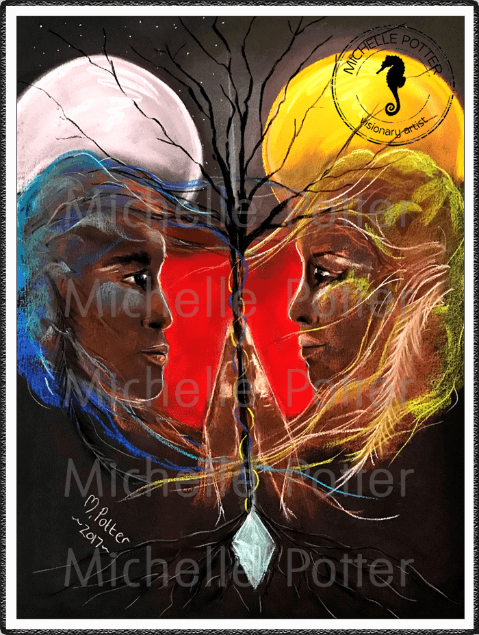 Spirit_Guide_Art_Michelle_Potter_Lovers_Large