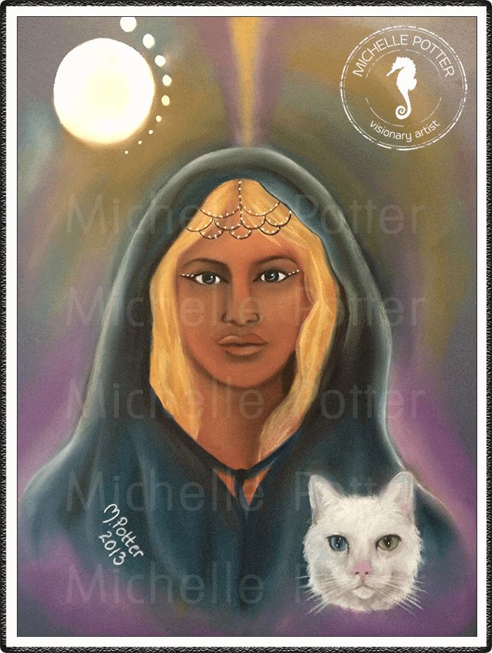 Spirit_Guide_Art_Michelle_Potter_Mishka_White_Cat_Large