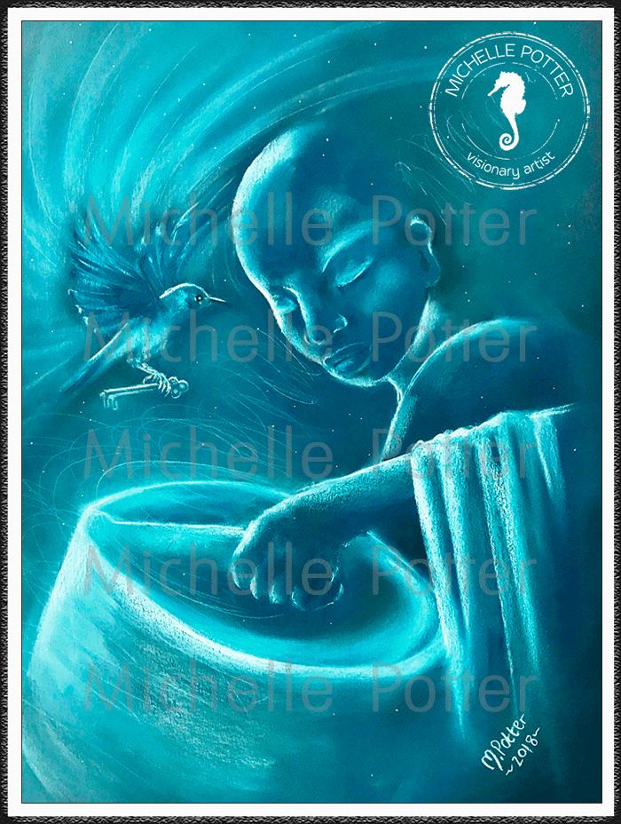 Spirit_Guide_Art_Michelle_Potter_Monk_Bluebird_Singing_Bowl_Large