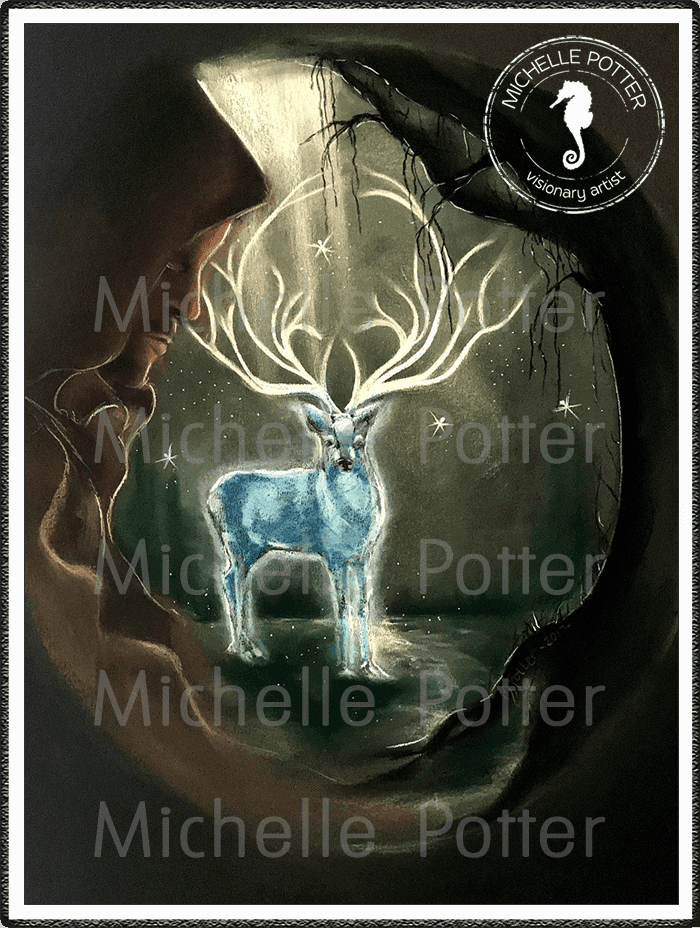 Spirit_Guide_Art_Michelle_Potter_Monk_Stag_Willow_Large