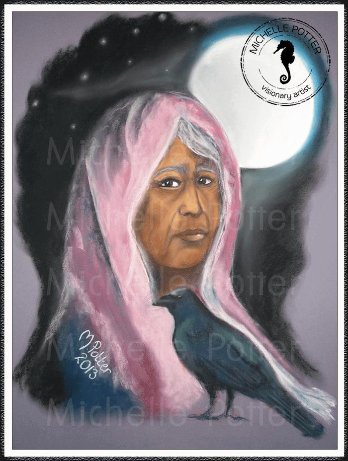 Spirit_Guide_Art_Michelle_Potter_Mother_Teresa_Large