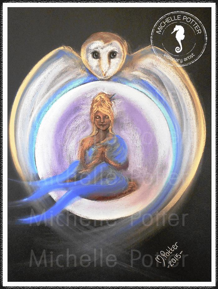 Spirit_Guide_Art_Michelle_Potter_Owl_Moon_Woman_Serenity_Large