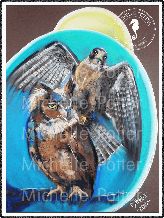 Spirit_Guide_Art_Michelle_Potter_Owl_Raven_Moon_Large