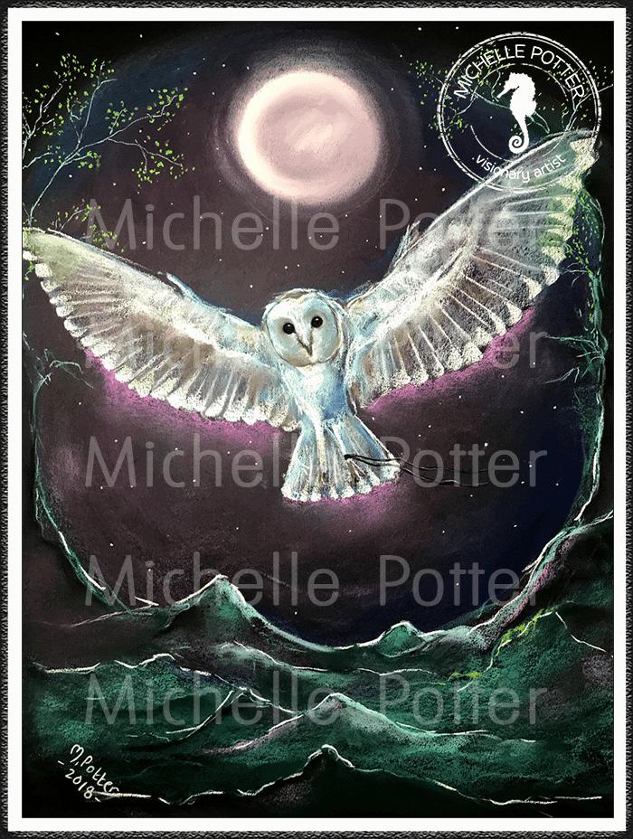 Spirit_Guide_Art_Michelle_Potter_Owl_White_Barn_Large