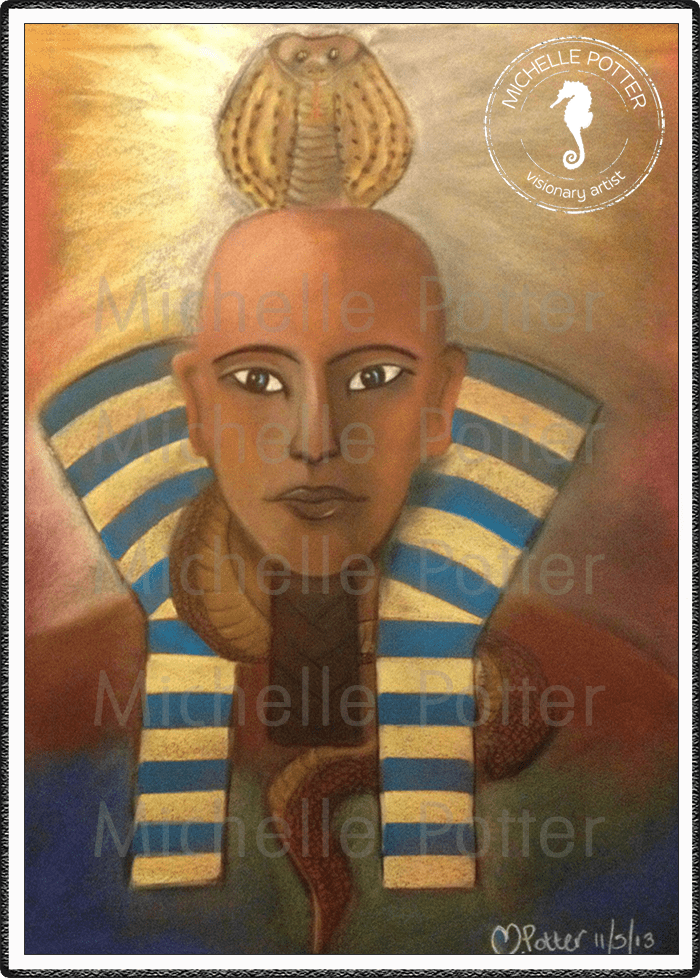Spirit_Guide_Art_Michelle_Potter_Pharaoh_Cobra_Large
