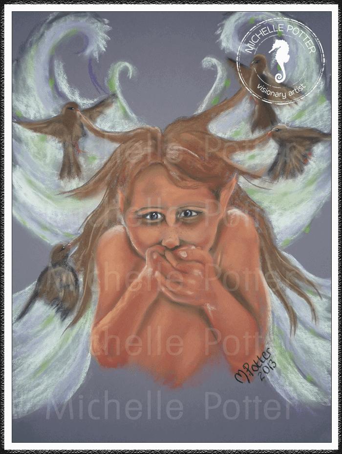 Spirit_Guide_Art_Michelle_Potter_Pixie_Child_Large