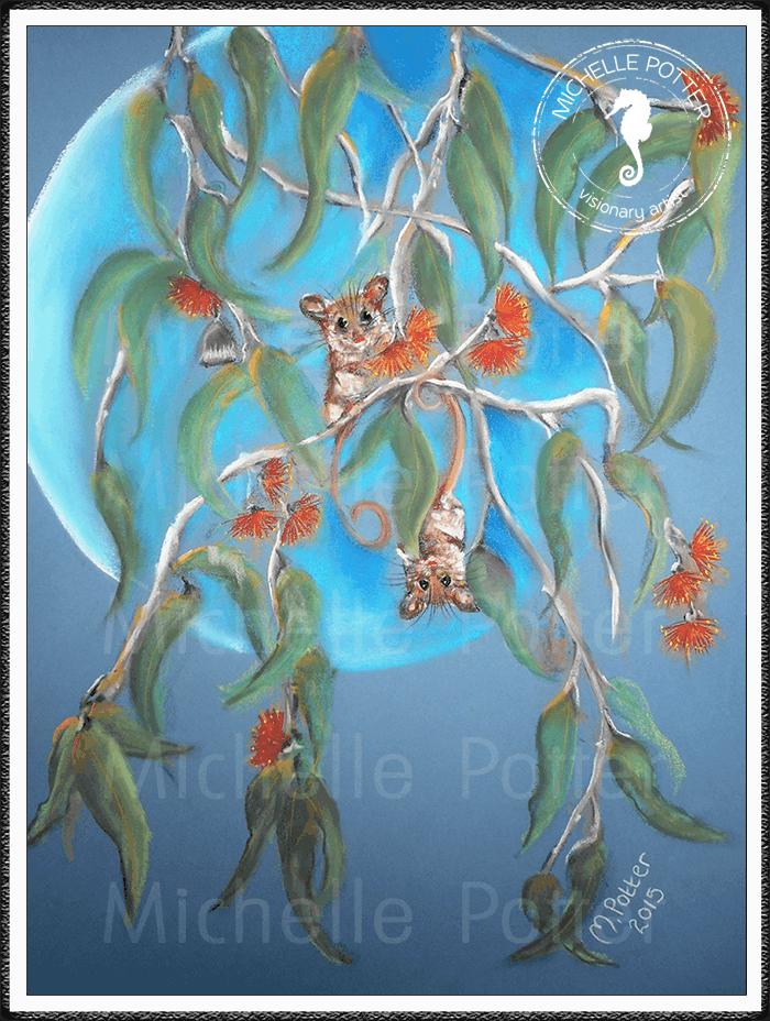 Spirit_Guide_Art_Michelle_Potter_Pygmy_Possums_Large