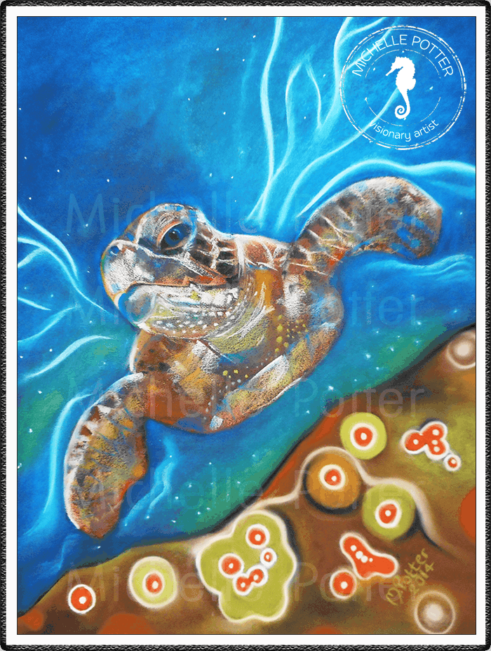 Spirit_Guide_Art_Michelle_Potter_Sea_Turtle_Large