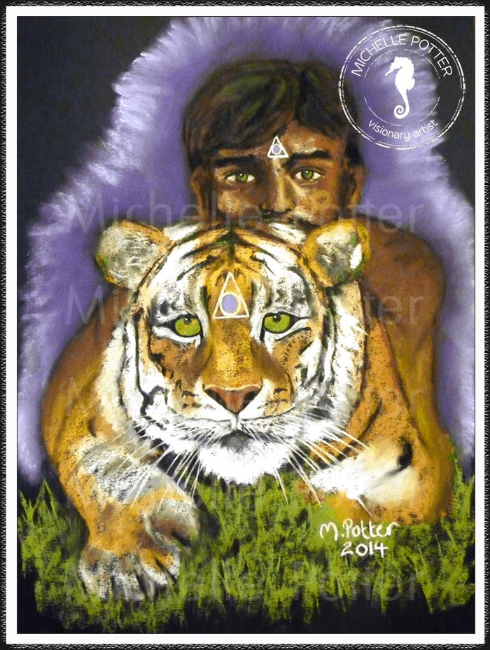 Spirit_Guide_Art_Michelle_Potter_Shilendra_Tiger_Large