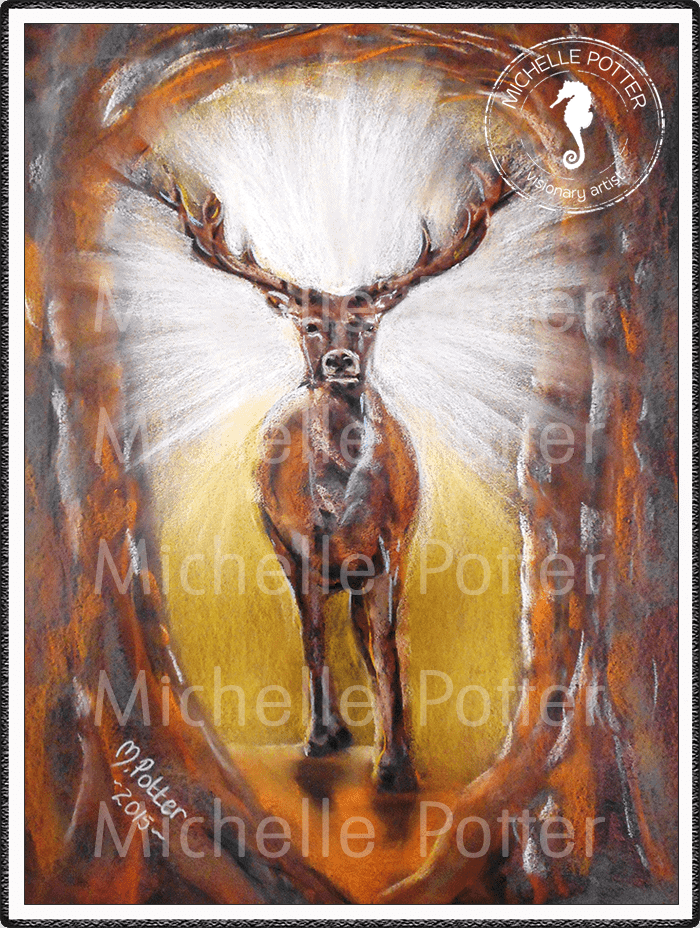 Spirit_Guide_Art_Michelle_Potter_Stag_Protector_Large