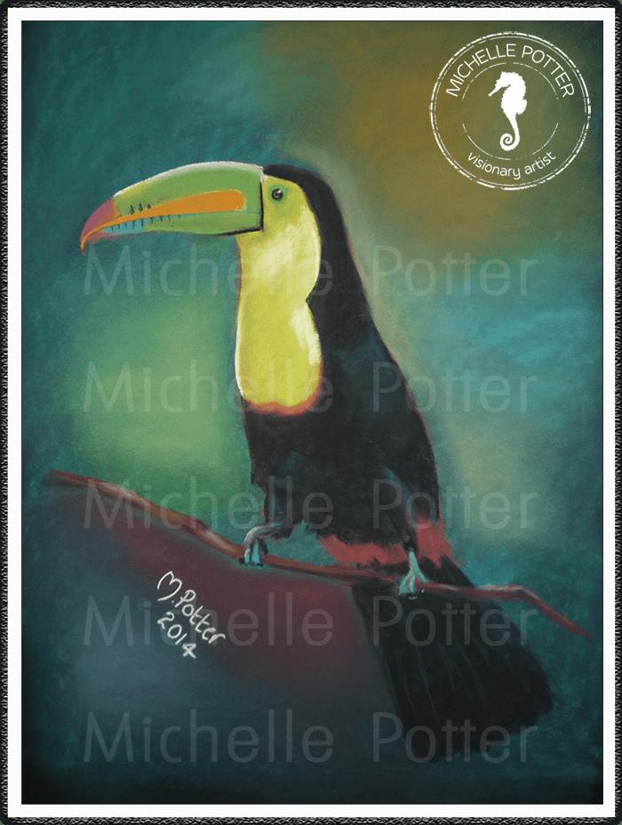 Spirit_Guide_Art_Michelle_Potter_Toucan_Large