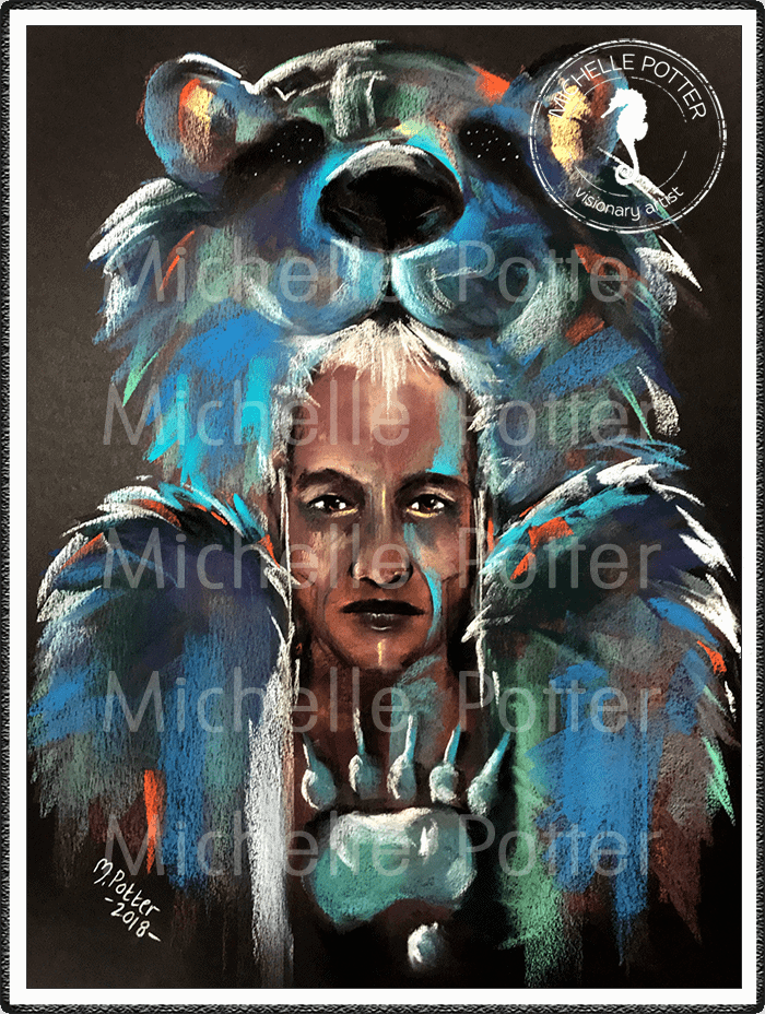 Spirit_Guide_Art_Michelle_Potter_Warrior_Bear_Large