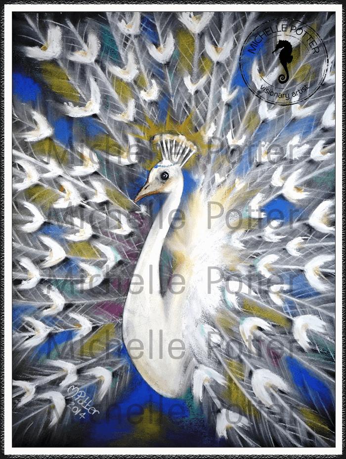 Spirit_Guide_Art_Michelle_Potter_White_Peacock_Large