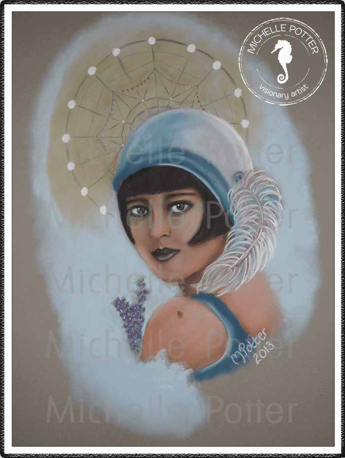 Spirit_Guide_Art_Michelle_Potter_Woman_Cecillia_Large
