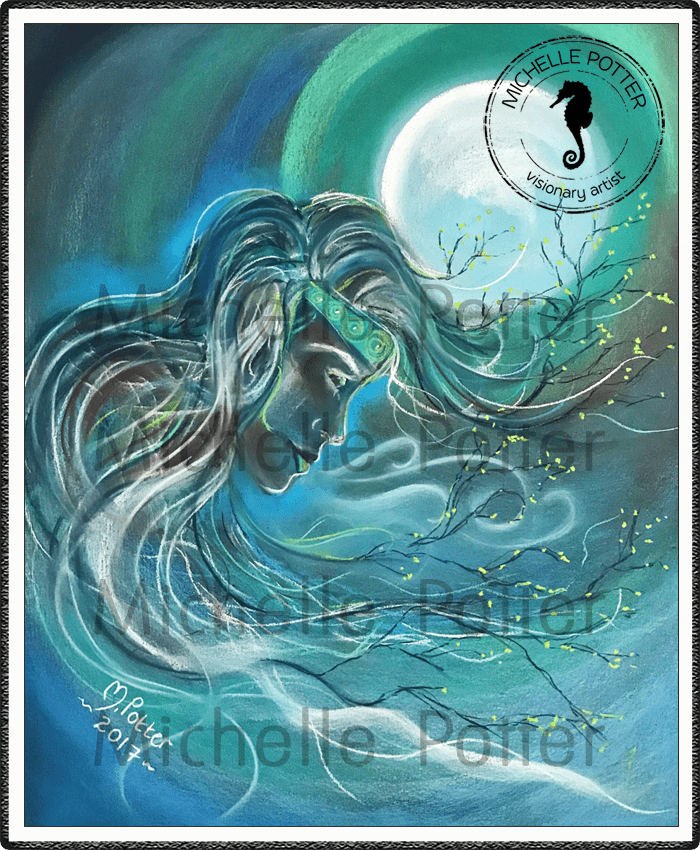 Spirit_Guide_Art_Michelle_Potter_Woman_Fern_Large