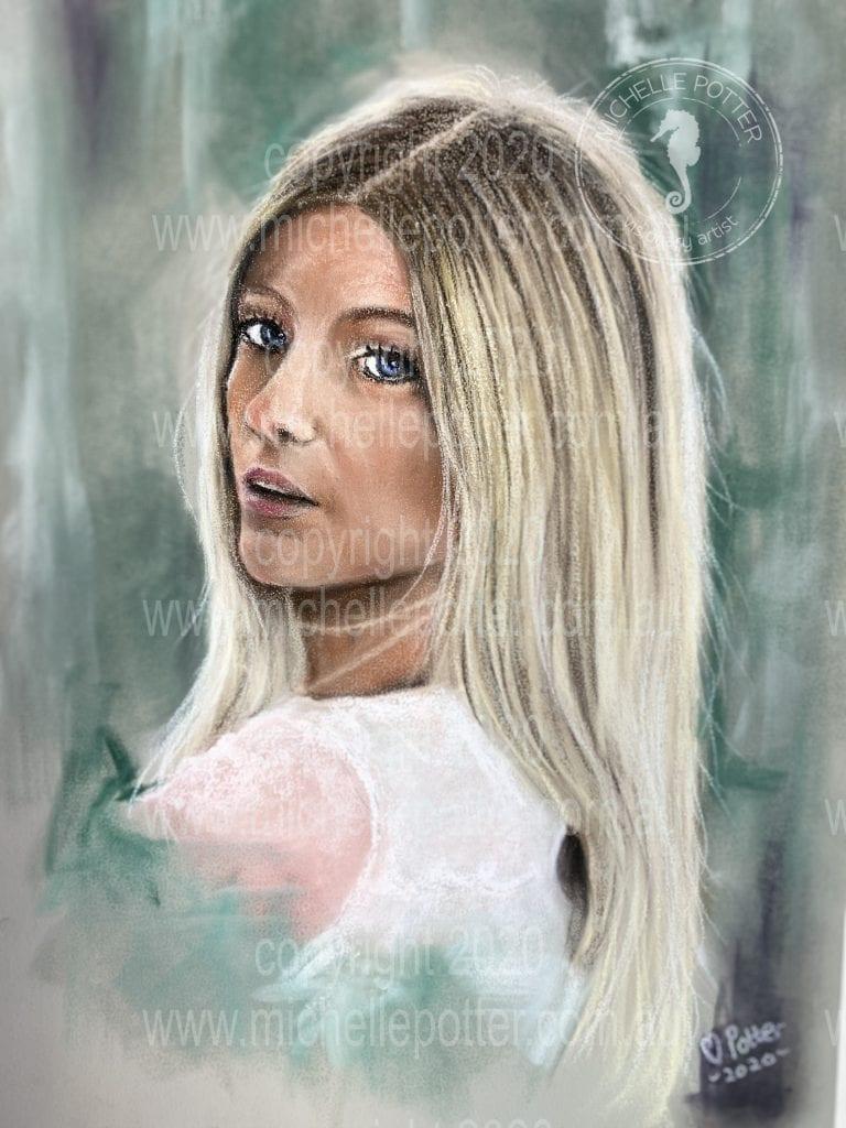 Tessa_Pastel_Portrait_Commission_Michell_Potter_Artist