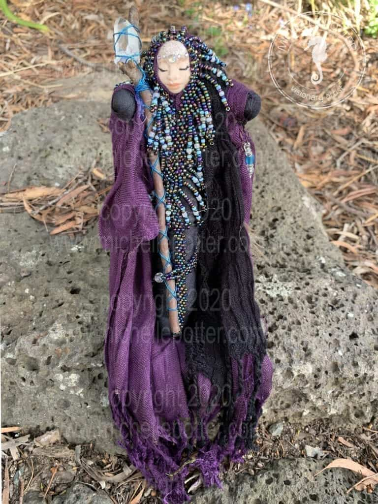 Spirit doll Born 19_04_2019 Michelle Potter Artist
