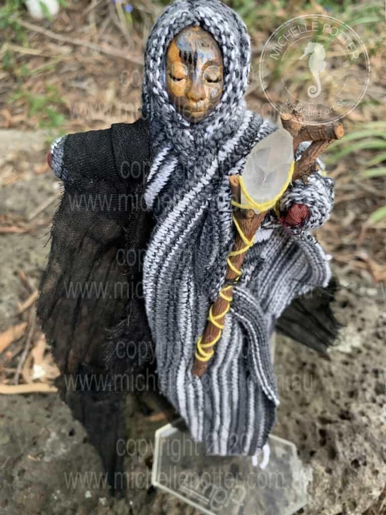 Spirit doll Born 22_3_2019 Michelle Potter Artist